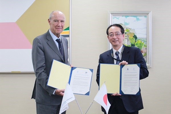 photo:Signing Ceremony of WIPO GREEN Partnership Agreement