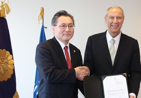 photo:WIPO GREEN Partner Signing Ceremony