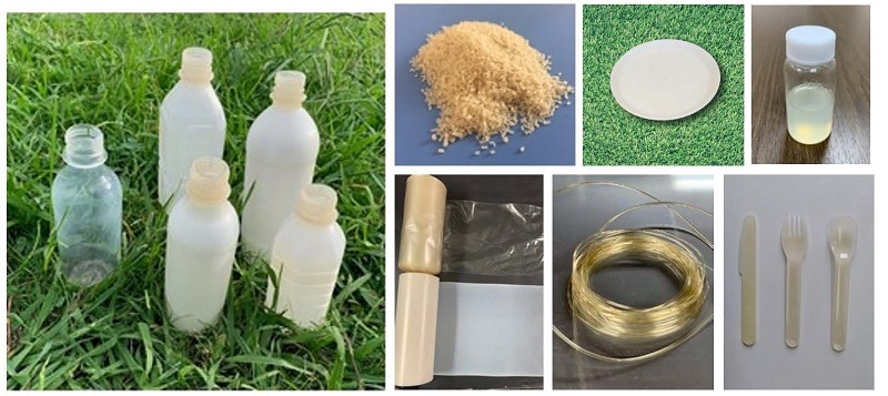 photo:100% Nature Biomass based Biodegradable Resin
