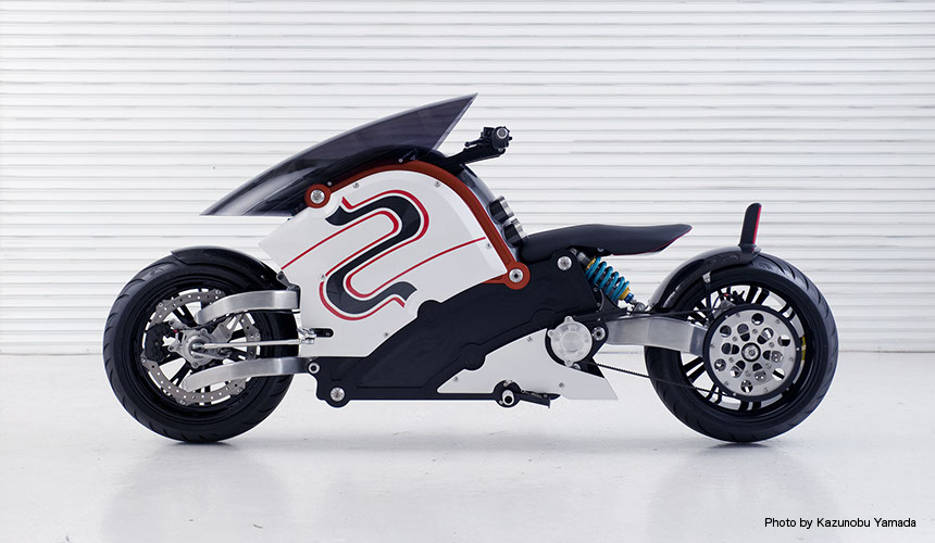 zecOO (THE ELECTRIC MOTORCYCLE)
