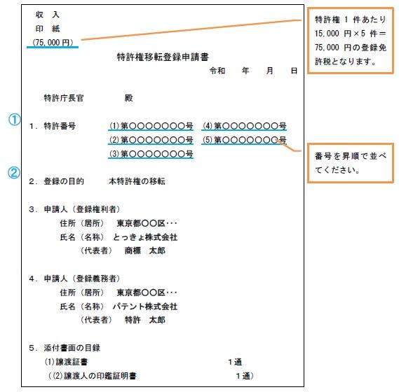 併合申請・大量申請について | 経済産業省 特許庁